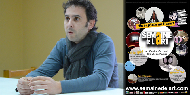 Thomas Azouz - Directeur de l'association Semaine de l'Art