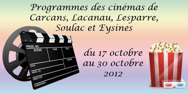 Programmes Cinémas