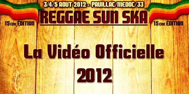 RSS Vidéo officielle 2012