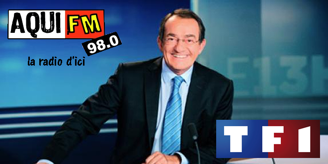 AquiFM au Journal de 13h de TF1 - 09-01-2013