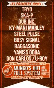 premiers noms du reggae sun ska festival 2013