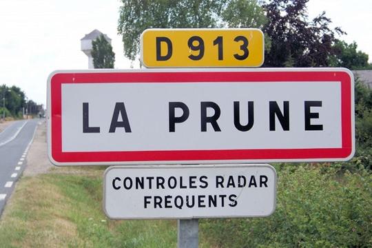 Contrôle Radar - Village La Prune