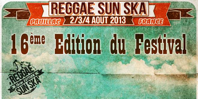 16eme édition du Reggae Sun Ska Festival