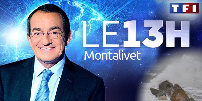 Alerte Météo - Montalivet au Journal de 13h de TF1 - 28.02.2014