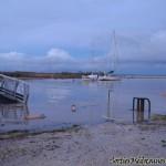 Port de La Maréchale (Saint-Seurin-de-Cadourne) - Photo prise le 01/02/2014 à 19h30