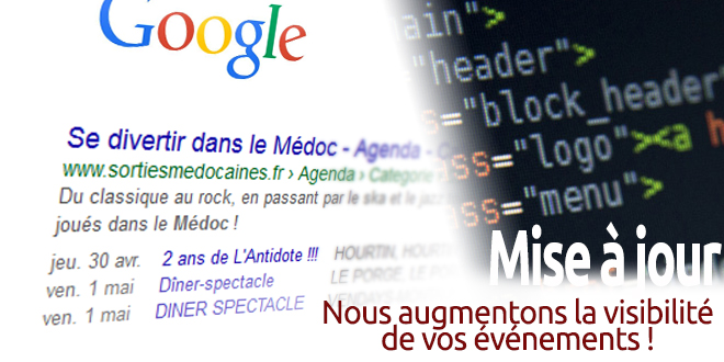 2015.04.26 : Mise à jour de notre code pour Google