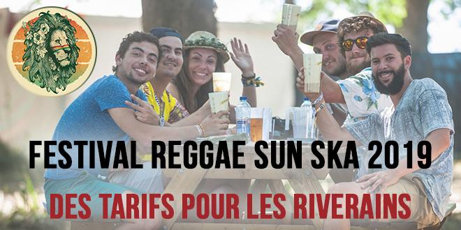 Reggae Sun Ska 2019 : Des tarifs réduits pour les riverains